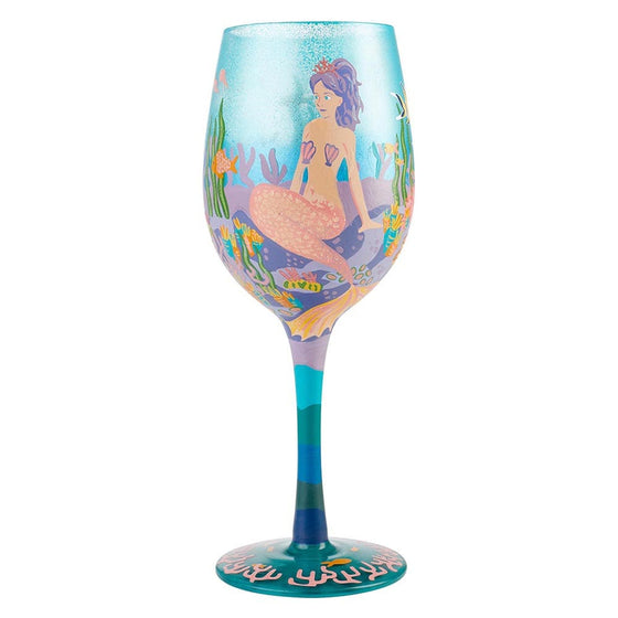 Lolita Miss Mermaid Wine Glass NEW