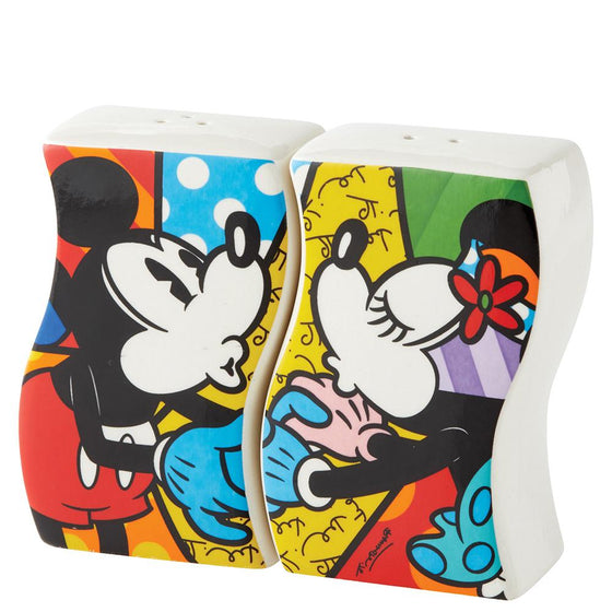 Disney Britto Mickey and Minnie Mouse Salt and Pepper Shakers