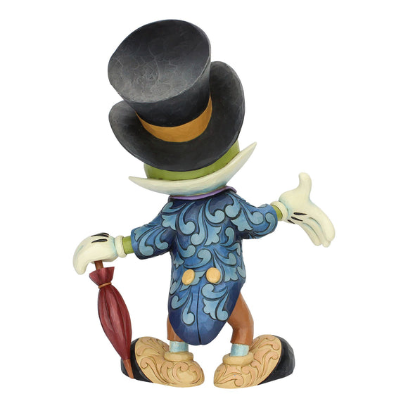 Cricket's the Name - Jiminy Cricket Figurine - Disney Traditions by Jim Shore