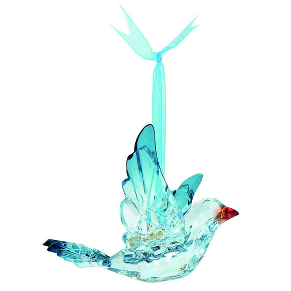 Bluebird Acrylic Hanging Ornament by D56