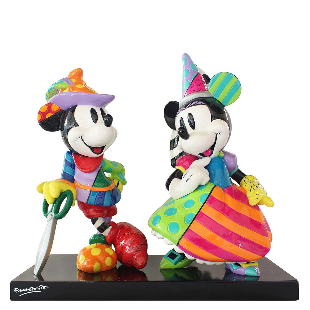 Mickey and Minnie Mouse Figurine Figurine by Disney Britto (Numbered Limited Edition 3000)