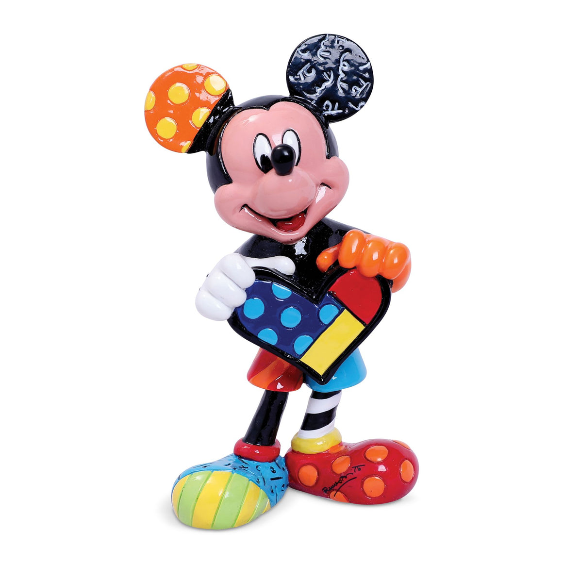 Mickey Mouse with Heart Mini Figurine by Disney Britto