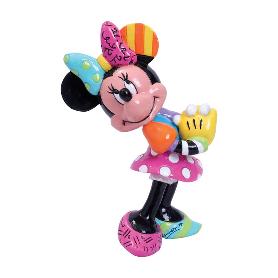 Minnie Mouse Blushing Mini Figurine by Disney Britto