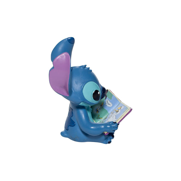 Stitch Book Figurine by Disney Showcase