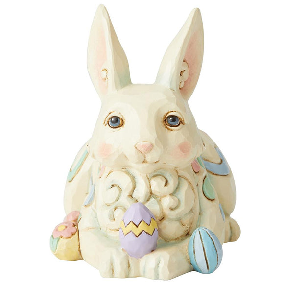 Bunny Laying Down Mini Figurine- Heartwood Creek by Jim Shore