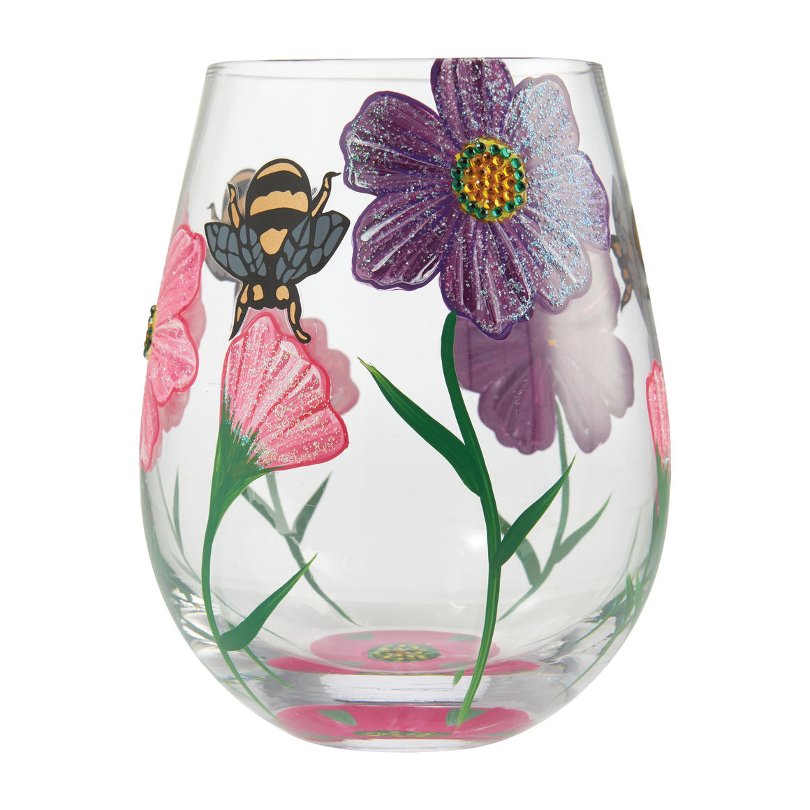 My Drinking Garden Stemless Wine Glass
