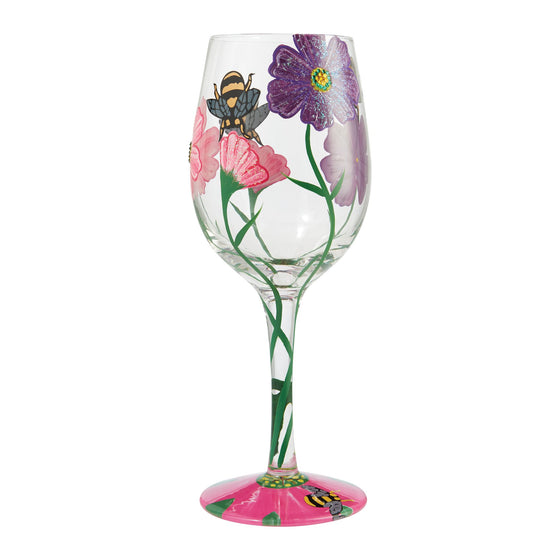 Lolita My Drinking Garden Wine Glass