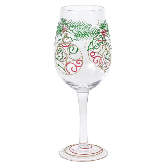 Ornament Wine Glass