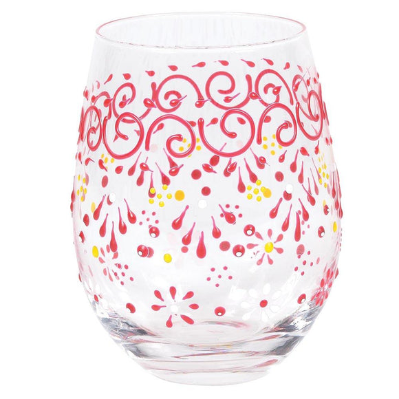 Melon Henna Glass