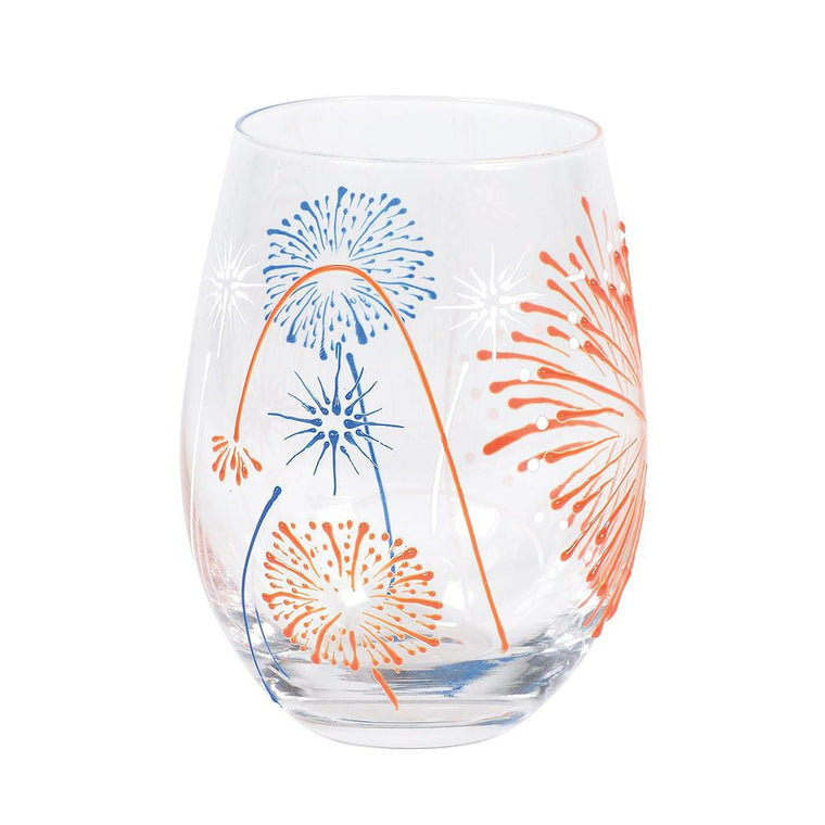 Fireworks Glass