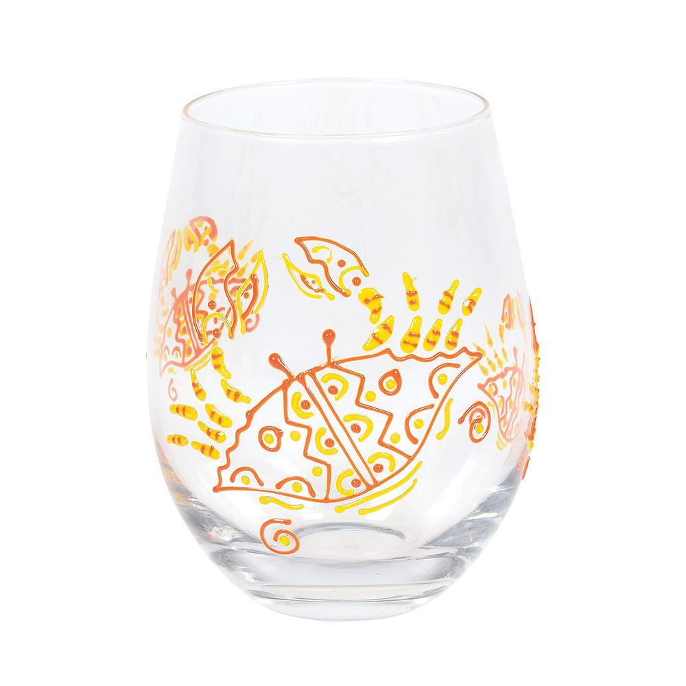 Red Crab Glass
