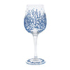 Coral Wine Glass