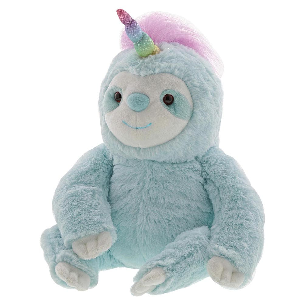 Gund Dazzle Slothicorn Soft Toy
