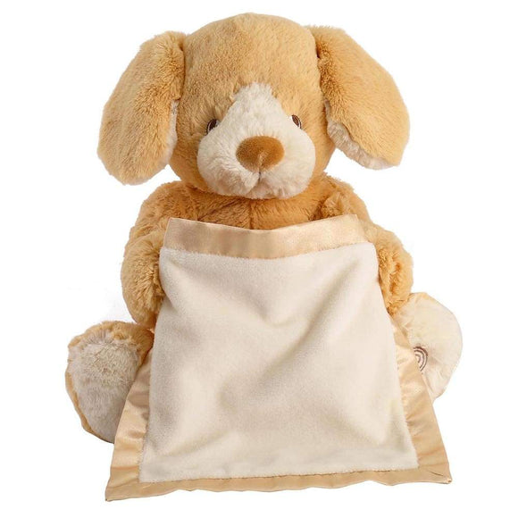 Gund Baby Peek-A-Boo Puppy Honey Soft Toy