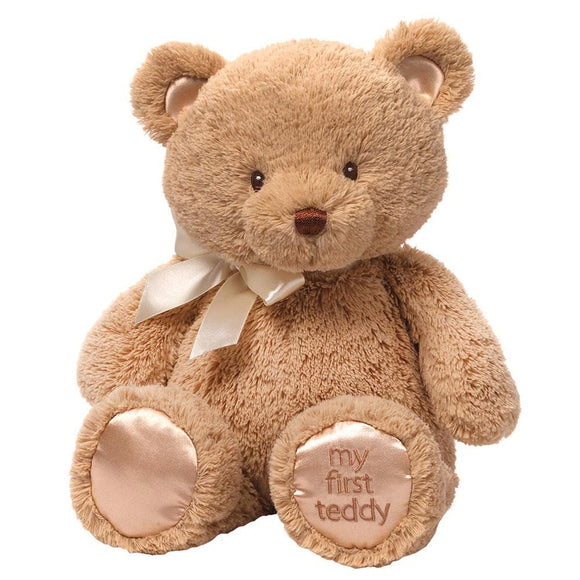 Gund Baby My 1st Teddy Tan Medium Soft Toy