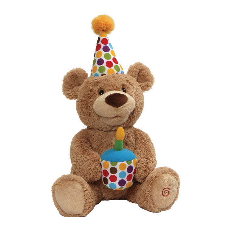 Happy Birthday! The Animated Bear Soft Toy by Gund