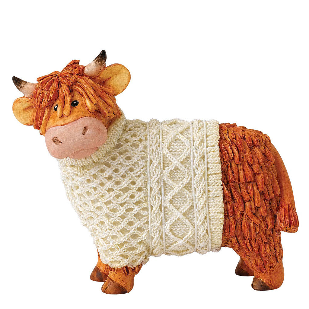 Border Fine Arts Hairy Coos Bonnie Figurine