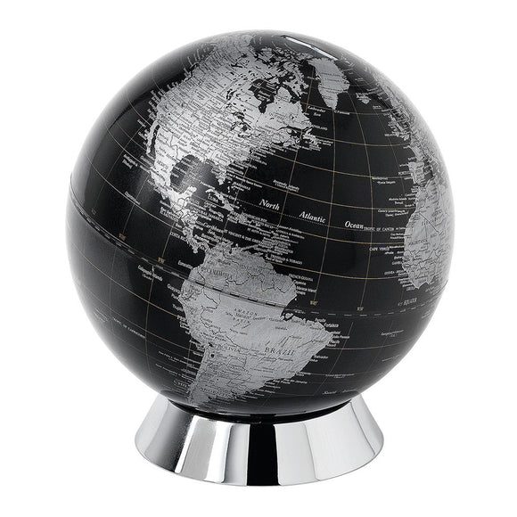Black Globe Bank 20cm