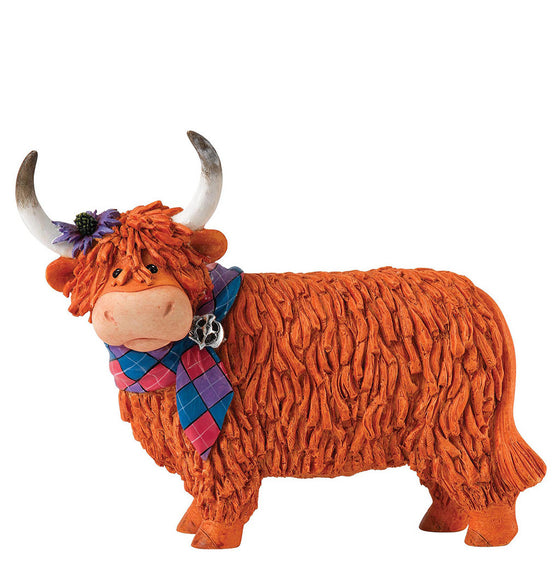 Border Fine Arts Hairy Coos Una Figurine