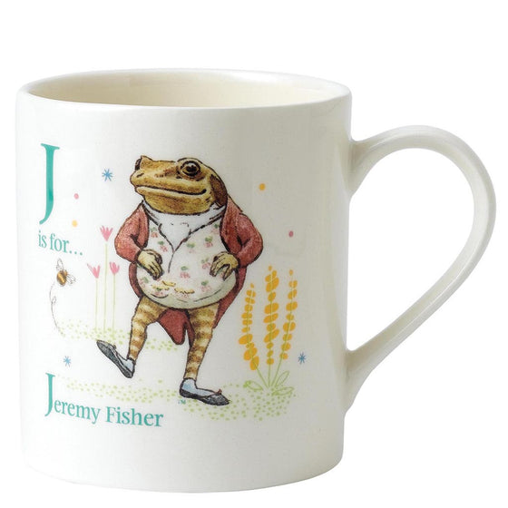 J - Jeremy Fisher Mug