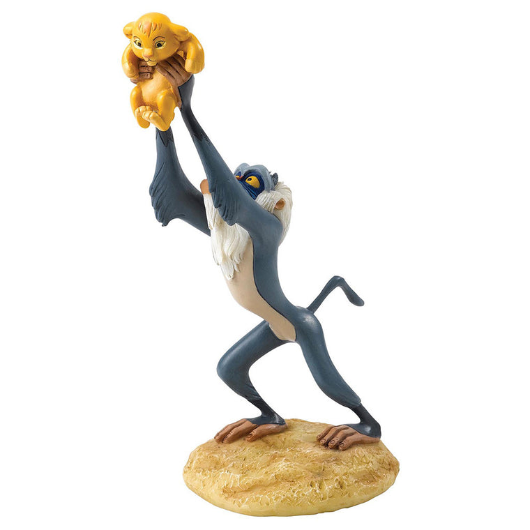 A King is Born - Rafiki and Simba Figurine by Enchanting Disney