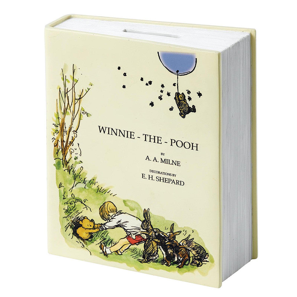 Classic Pooh 90th Anniversary Book Money Bank