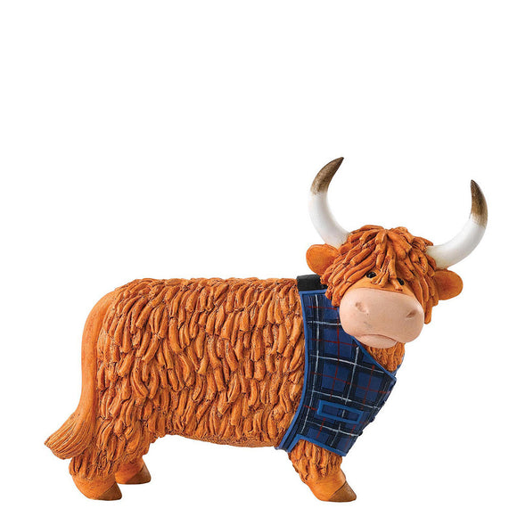 Border Fine Arts Hairy Coos Bruce Figurine