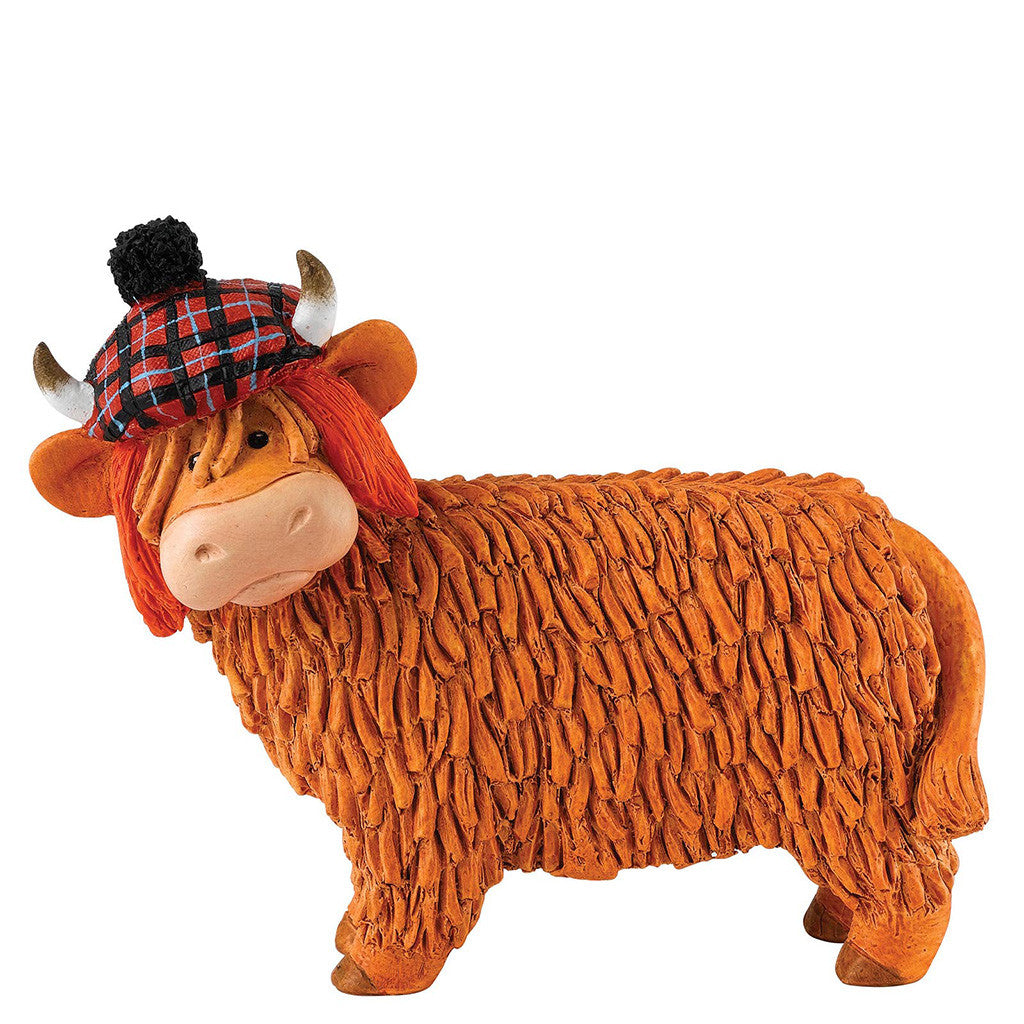 Border Fine Arts Hairy Coos Jimmy Figurine