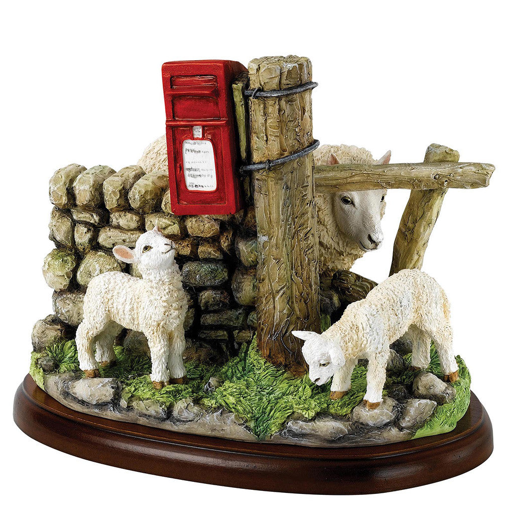Border Fine Arts Studio Sheep May Safely Graze Figurine