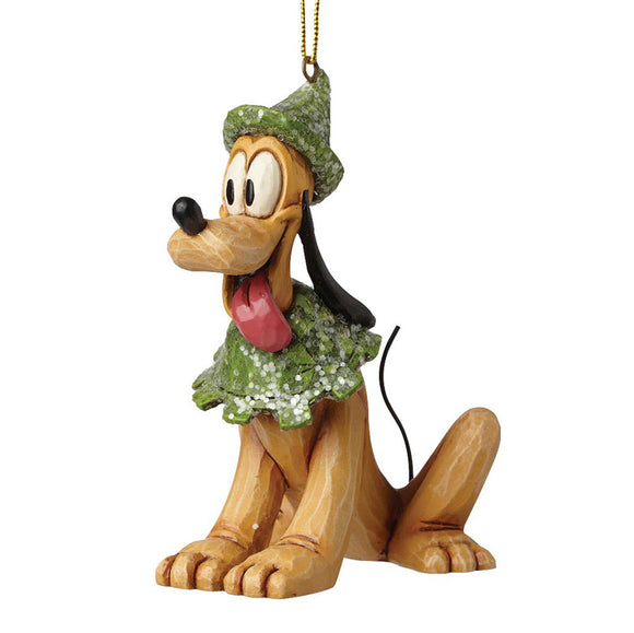 Disney Traditions Sugar Coated Pluto Hanging Ornament