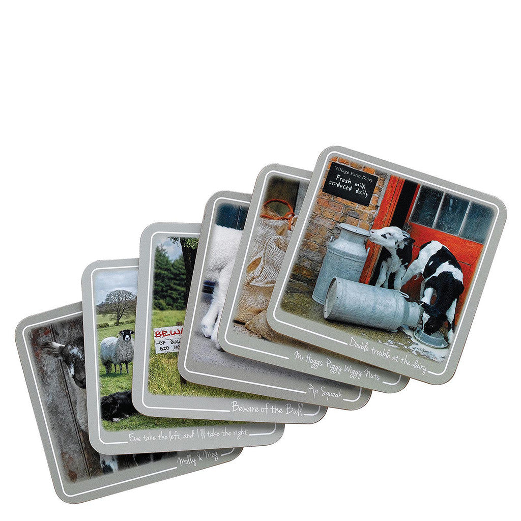 Kitchy & Co Coasters Set 6