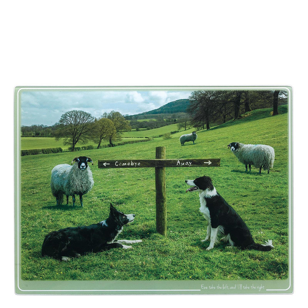 Kitchy & Co Ewe Take the Left Chopping Board