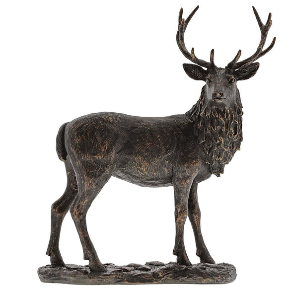 Border Fine Arts Studio Bronze Stag (Small) Figurine
