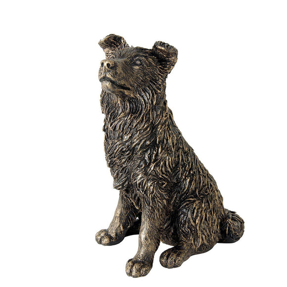 Border Fine Arts Studio Bronze Border Collie Figurine
