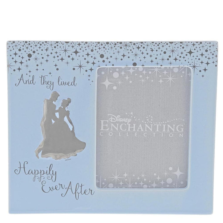 Cinderella Wedding Photo Frame by Enchanting Disney