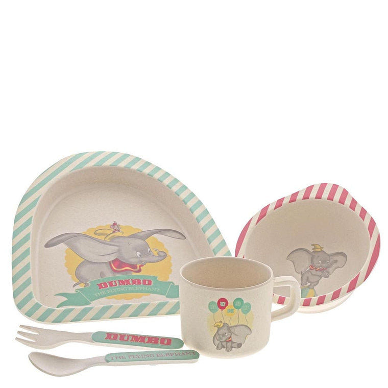 Enchanting Disney Dumbo Bamboo Dinner Set