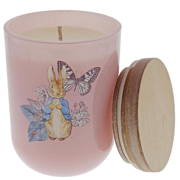 Beatrix Potter Peter Rabbit Garden Party Candle (Pink)