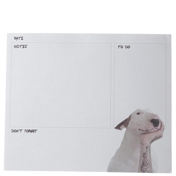 Jimmy the Bull 'Head in Hand' Desk Pad