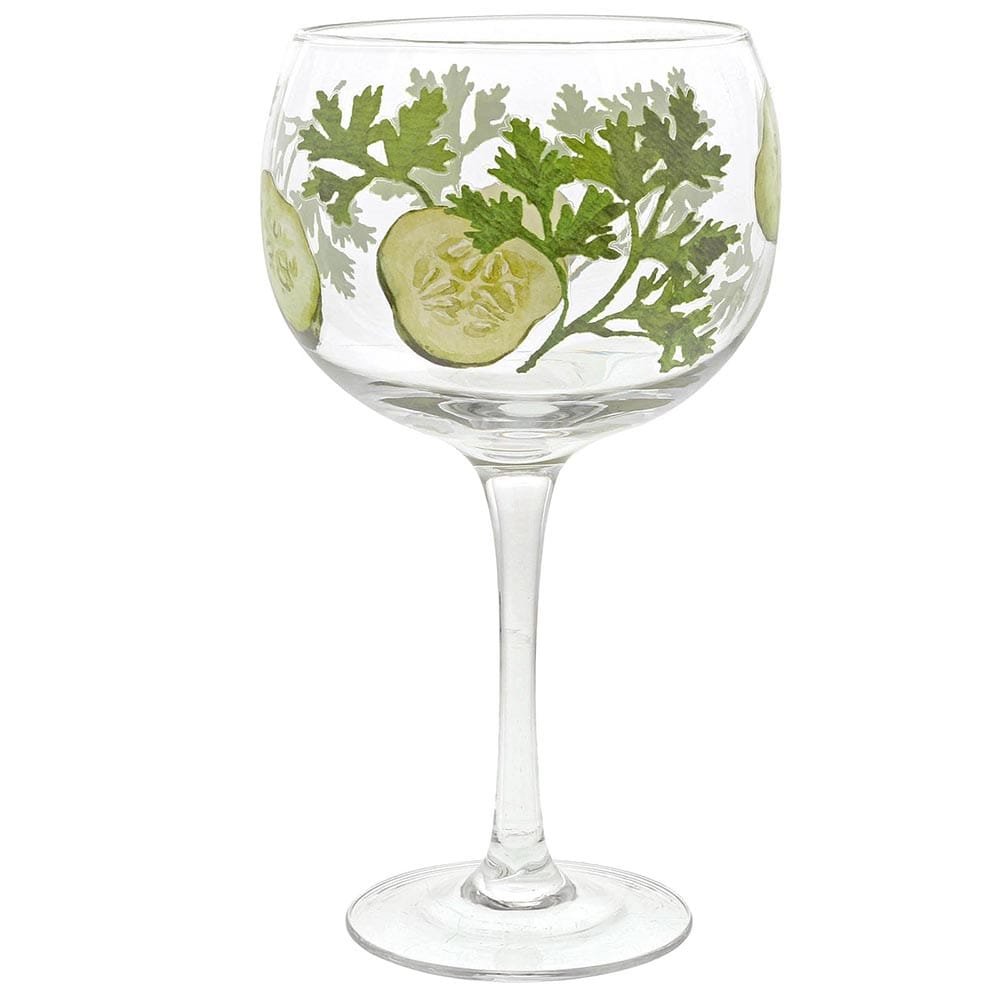 Cucumber Gin Copa Glass by Ginology