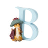 """B"" - Peter Rabbit Decorative Alphabet Letter by Beatrix Potter"