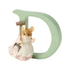 """D"" - Peter Rabbit Decorative Alphabet Letter by Beatrix Potter"