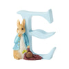 """E"" - Peter Rabbit Decorative Alphabet Letter"