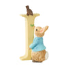 """I"" - Peter Rabbit Decorative Alphabet Letter by Beatrix Potter"