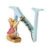 """N"" - Peter Rabbit Decorative Alphabet Letter by Beatrix Potter"