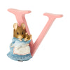 """V"" - Peter Rabbit Decorative Alphabet Letter"