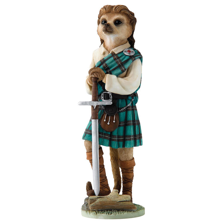 Magnificent Meerkats William Figurine