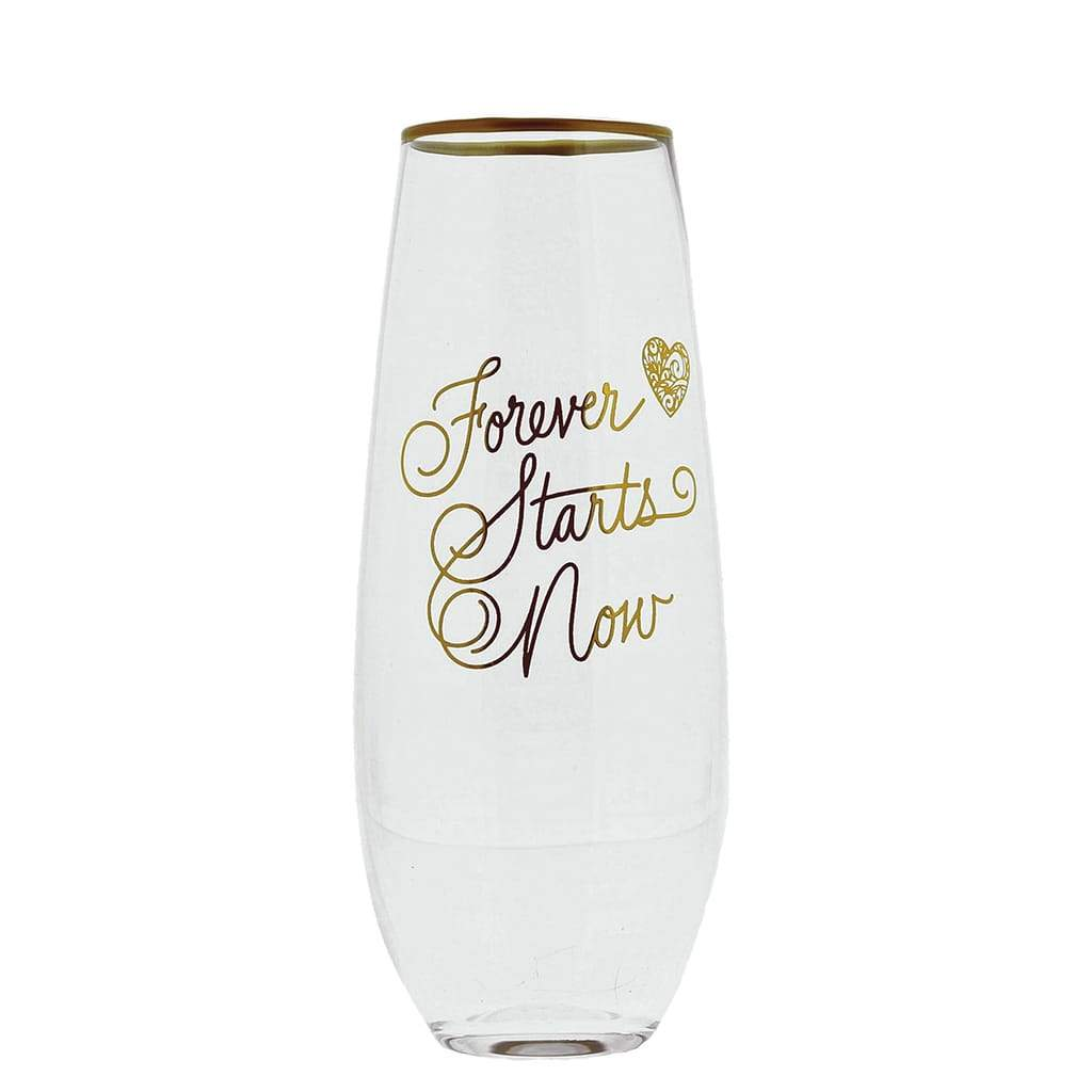 Love Always Collection Forever Toasting Glasses (Set of 2)