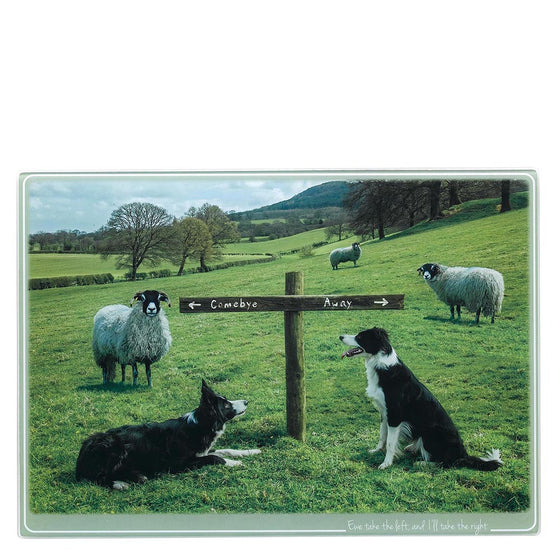 Kitchy & Co Ewe Take the Left Trivet Large