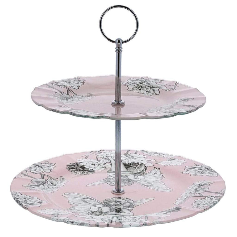 Flower Fairies Candytuft Cake Stand
