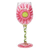 Lolita Mum's Love in Bloom Wine Glass